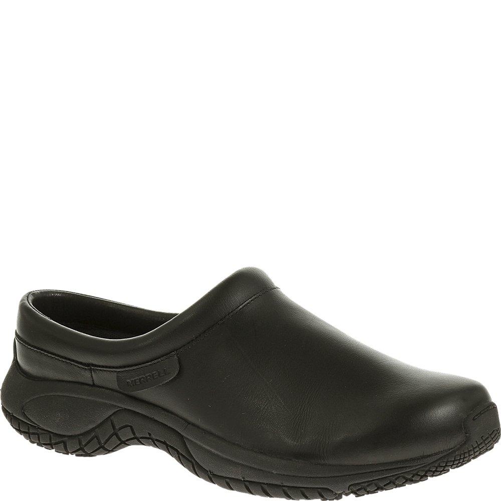 Merrell Men's Encore Slide Pro Grip Slip-Resistant Work Shoe, Black, 8 M US