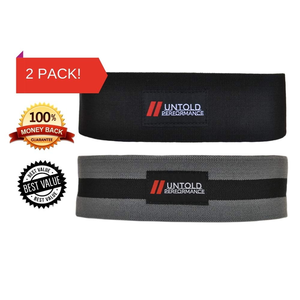 High Resistance Glute Bands | Build and Activate your Glutes with our Booty Bands | Weightlifting, Bodybuilding, Powerlifting, Cross Fit Training, and Yoga for Men and Women