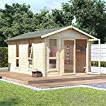 14x10 Garden Room Log cabin Kit