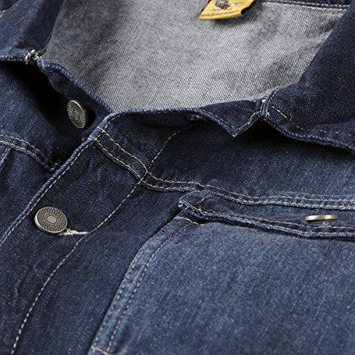 Xxl Abraxas Jacket Blue Stonewash Jeans 77zRxqH