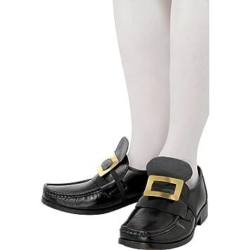 Zapatos con hebilla de metal accesorios calzado medieval ...
