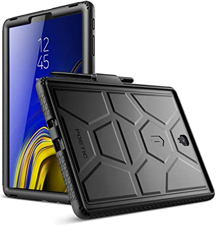 premium selection 96fee 76d74 Galaxy Tab S4 10.5 Case, Poetic TurtleSkin Series [Corner/Bumper  Protection][Grip][Bottom Air Vents] Protective Silicone Case for Samsung  Galaxy Tab ...