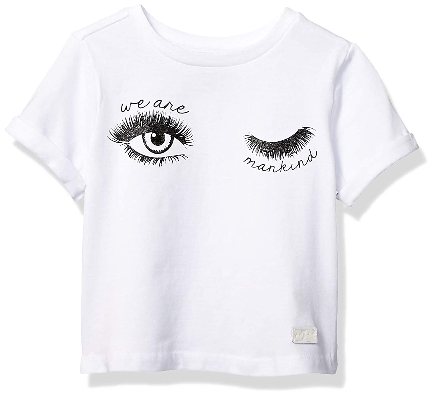 7 For All Mankind Girls Jersey Ringer Fashion T-Shirt