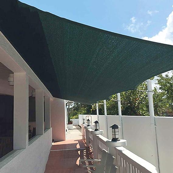 lklxj Red De Sombra, Pérgola 90% Resistente A Los Rayos UV, Tejido De Sombra De Alta Densidad para Terrazas, Jardines, Cercas, Cocheras 7 Mx8 M: Amazon.es: Hogar