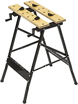 TecTake Mesa de sujeción banco de trabajo abatible mesa de trabajo ...