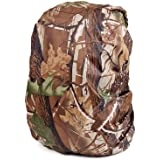 Toudorp Waterproof Backpack Rain Cover Compatible with School Bag , Laptop Bag and Duffel Bag for Hiking, Camping, Mountaineering, Cycling