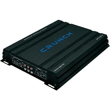 Crunch GPX1000.4 4.0 Coche Alámbrico Negro - Amplificador de audio (4.0 canales,