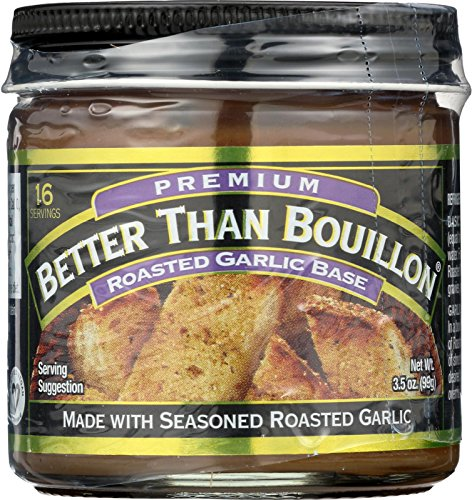 Better Than Bouillon Soup Base - Roasted Garlic - Pack of (8) 3.5 Ounce Jars