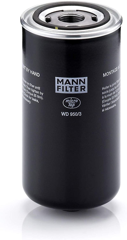 Original Mann Filter Ölfilter Wd 950 3 Getriebefilter Für Pkw Und Nutzfahrzeuge Auto