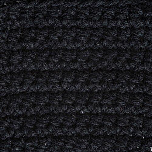 Lily Sugar'n Cream Cotton Cone Yarn, 14 oz, Black , 1 Cone by Lily (Image #2)