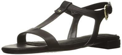 Aerosoles Womens Buckle Down Dress Sandal Black Size 90