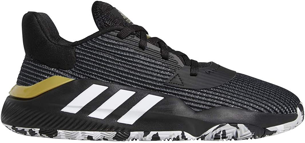 Sports basketball shoes sneakers Adidas Pro Bounce 2019 Black man