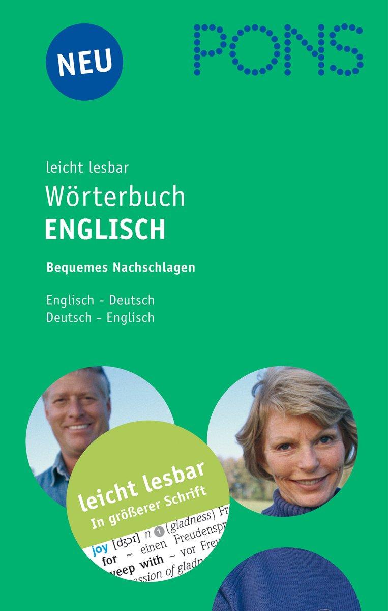 Leicht lesbar Wörterbuch Englisch