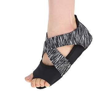 Fishlor Zapatos de Envoltura Suave, Mujeres Yoga ...