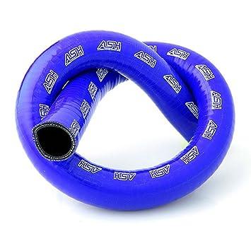 28 mm Id Blue 1 Meter Länge Draht verstärkter gerader Silikon ...