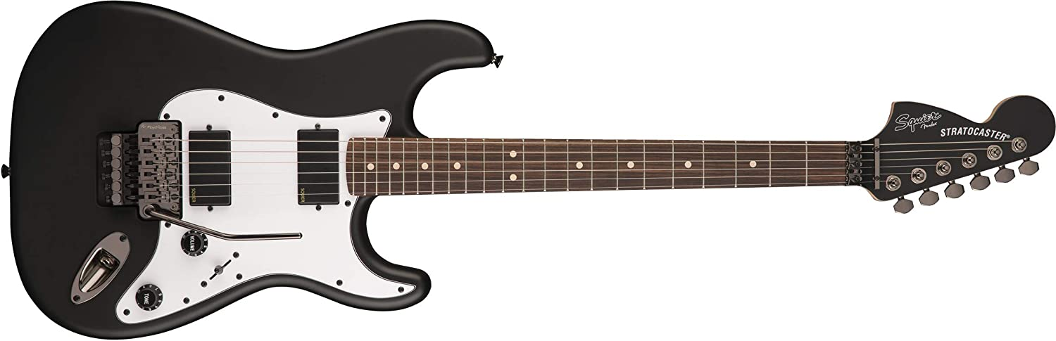 Squier Contemporary Active Stratocaster HH Flat Black Touche ...