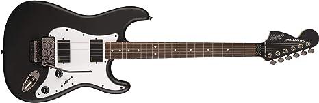 Squier Contemporary Active Stratocaster HH Flat Black Touche ...
