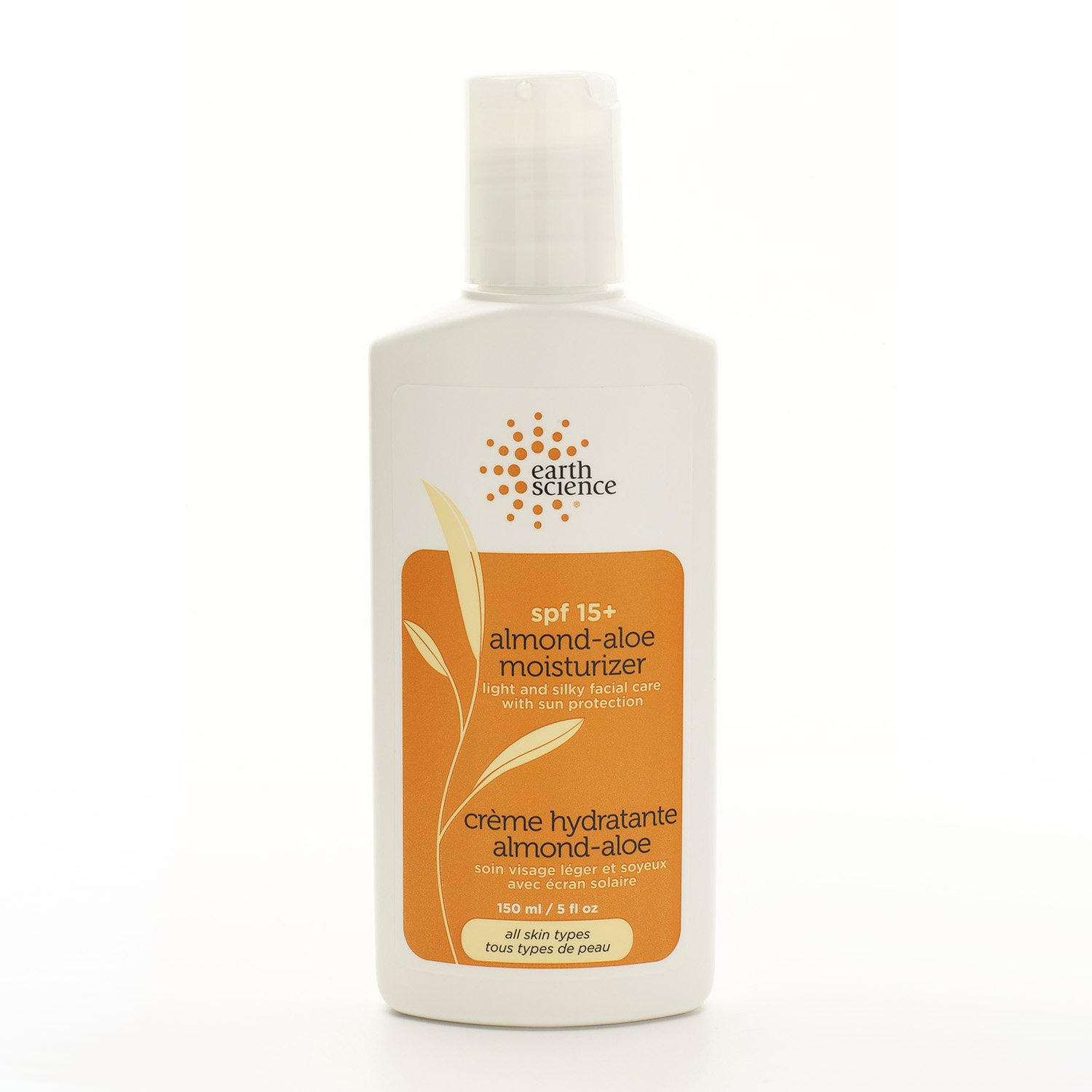 Earth Science Almond Aloe Moisturizer with Spf 15+