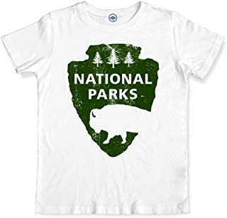product image for Hank Player U.S.A. National Parks Men's T-Shirt (L, White)