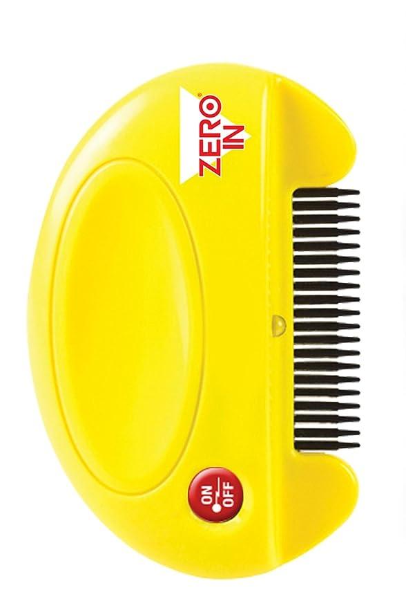 Zero In Flea Killer Comb (Giftfreier, batteriebetriebener Floh- und Zeckenmörder für Katzen und Hunde, tötet erwachsene Flöhe