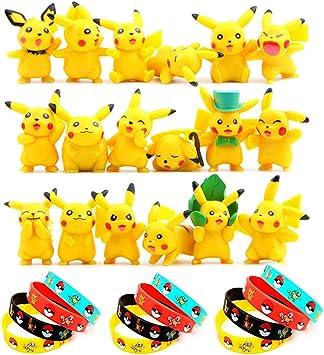 OMG Funmo - Pokemon Pikachu Figuras Pack(30 Piezas), Pokemon ...