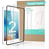 """【2 PACK Gift INSTALL FRAME】New iPad 9.7"""" 6th Generation Screen Protector (2018&2017) , Tempered Glass iPad Air 2 Screen…"""
