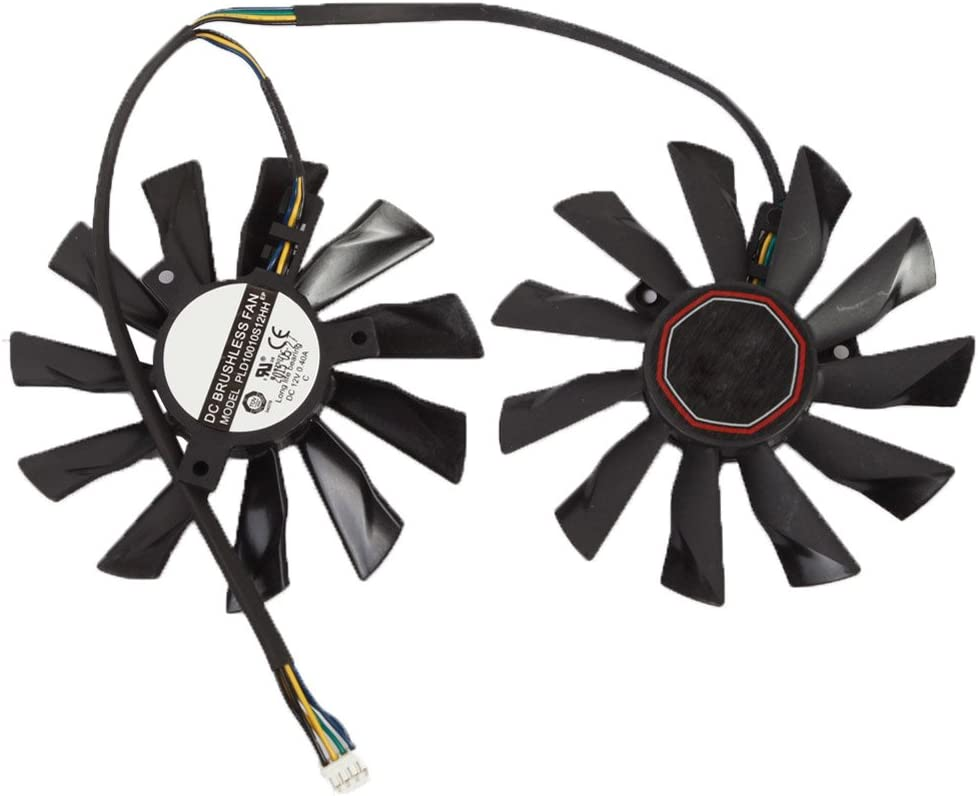 2pcs//lot PLD10010S12HH 12V 0.4A 94mm Cooling Fan For MSI GTX 770 R9 280X R9 270X R7 260X Graphics Video Card Fan