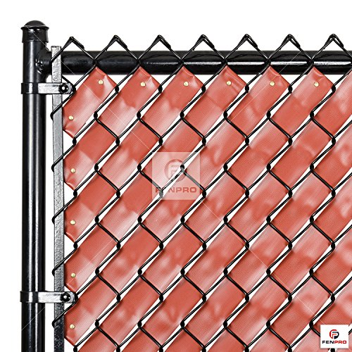 Chain link fence weave redwood new ebay