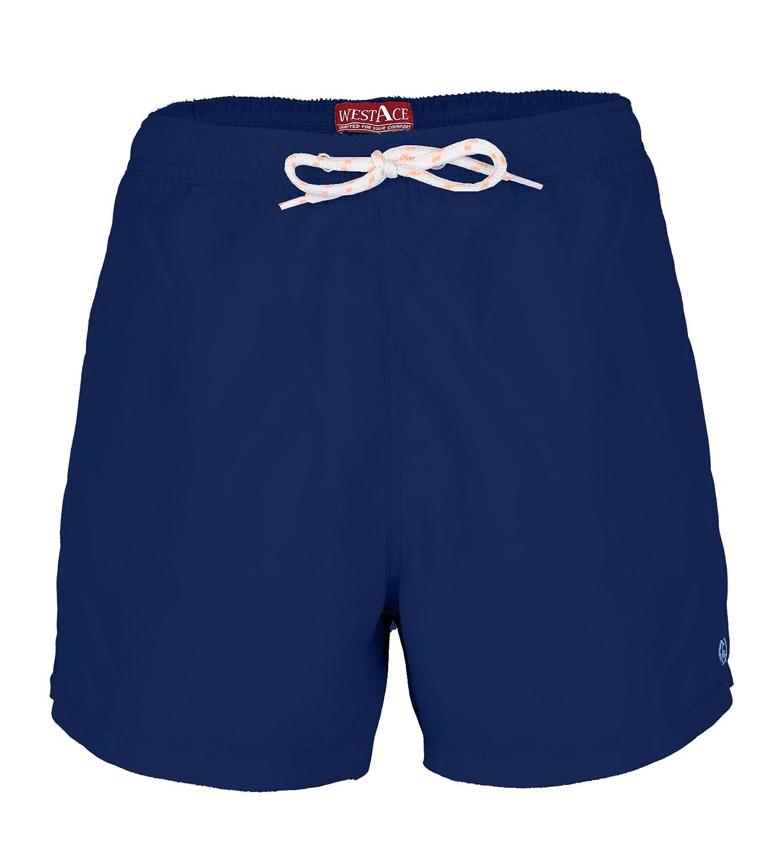 westAce Herren Badeshorts Freizeit Kurze Badehose Schnell Trocknend Strandshorts Sommer Schwimmhose Beachshorts Bermuda Shorts