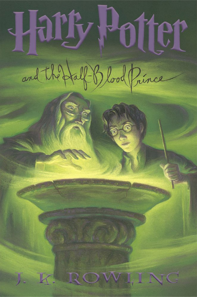 Image result for harry potter and the half-blood prince book