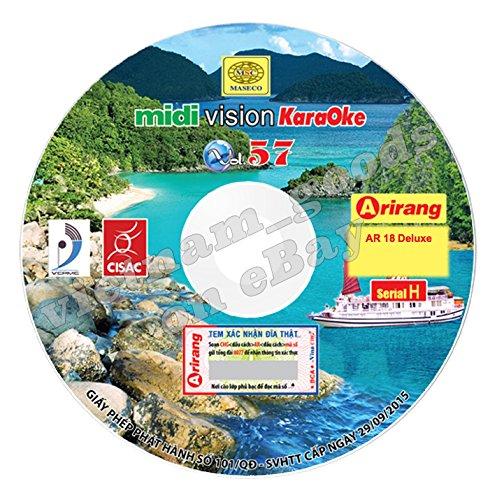 Arirang Karaoke Vision Midi Disc Vol 57 Serial H Vietnamese English