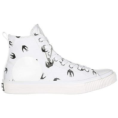 MCQ Alexander McQueen Sneakers Alte Plimsoll Uomo White