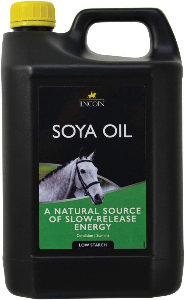 Lincoln Soya Aceite Para Caballos - 4 litros Botella