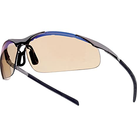544b6becaa4 Bolle - Bolle - Bolle Safety Glasses Contour Esp - Metal Frame - Science  Lab Glasses - Amazon.com