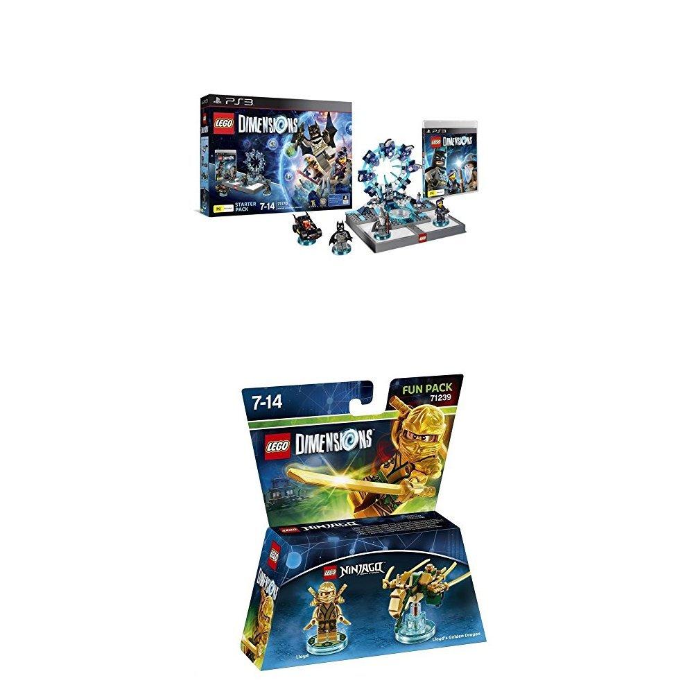 LEGO - Starter Pack Dimensions (PS3) + LEGO Dimensions - Ninjago Lloyd: Amazon.es: Videojuegos
