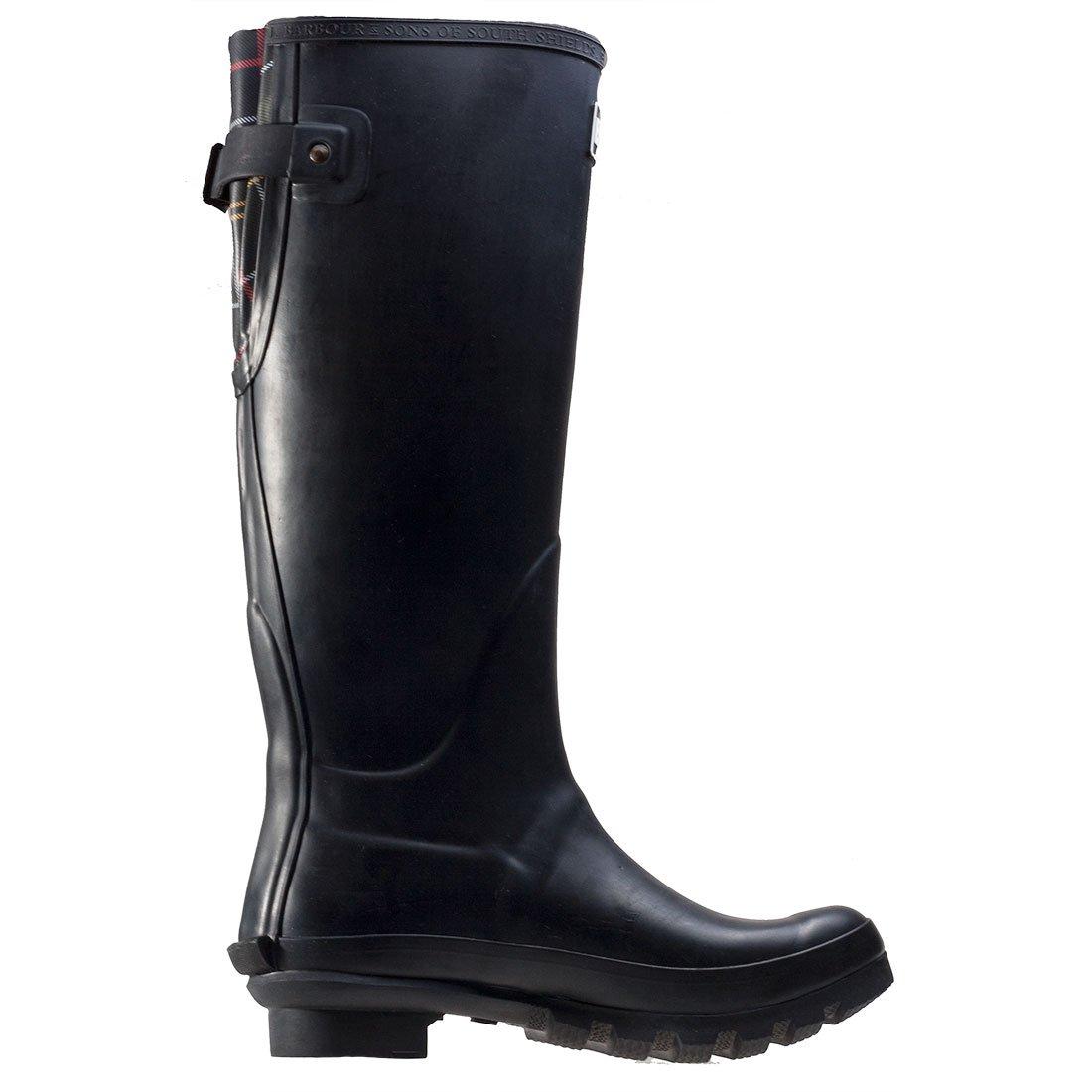 Damen Barbour Jarrow Schnee Wasserdicht Mitte Stiefel Wade Gummistiefel Stiefel Mitte - Schwarz - 43 - 6ec167