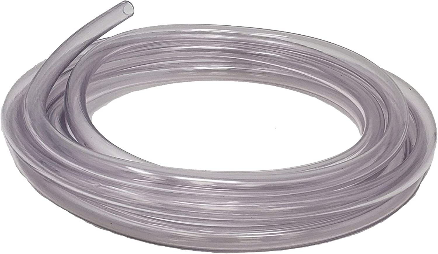 Sealproof Unreinforced PVC Food Grade Clear Vinyl Tubing, 5/16-Inch ID x 7/16-Inch OD, 10-Ft, 100% American Made