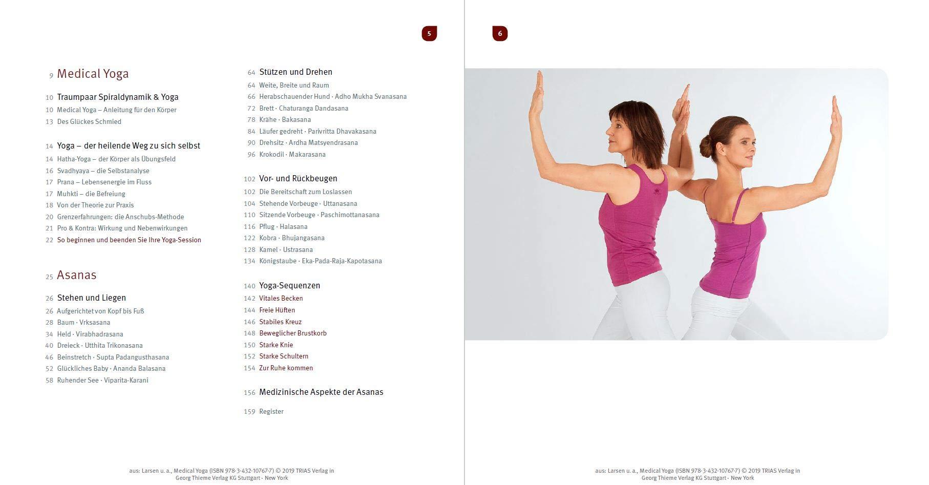 Medical Yoga Anatomisch Richtig Uben Yoga Bei Bewegungsproblemen Larsen Christian Wolff Christiane Hager Forstenlechner Eva 9783432107677 Amazon Com Books