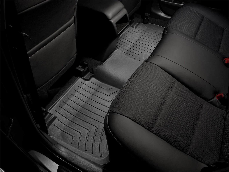 WeatherTech Custom Fit Rear FloorLiner for Toyota 4Runner, Black