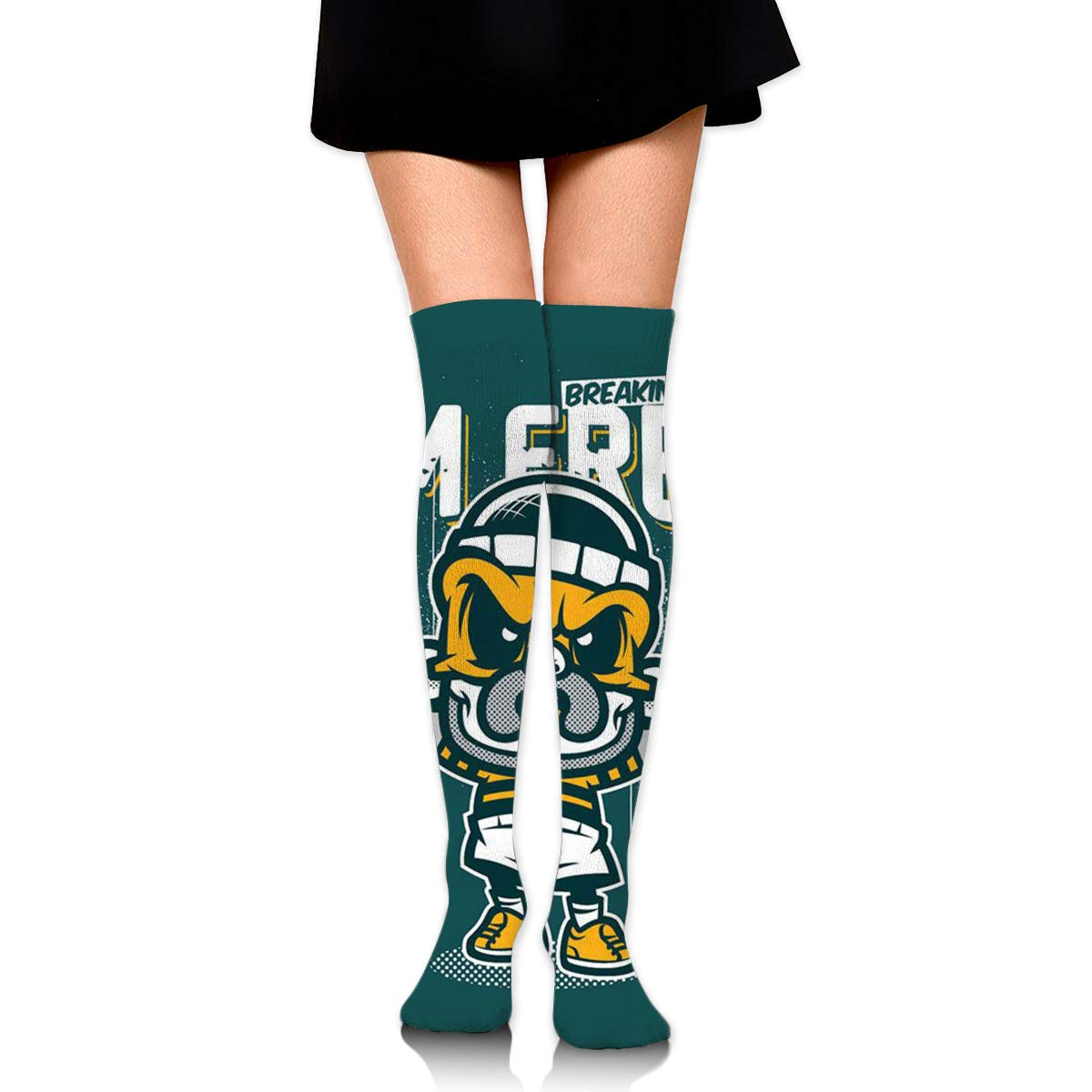 IM FREE Long Tight Thigh High Socks Over The Knee High Boot Stockings Leg Warmers