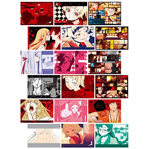 The most lottery premium Kizumonogatari Blood and iron Hen G Award Poster Set all six ()
