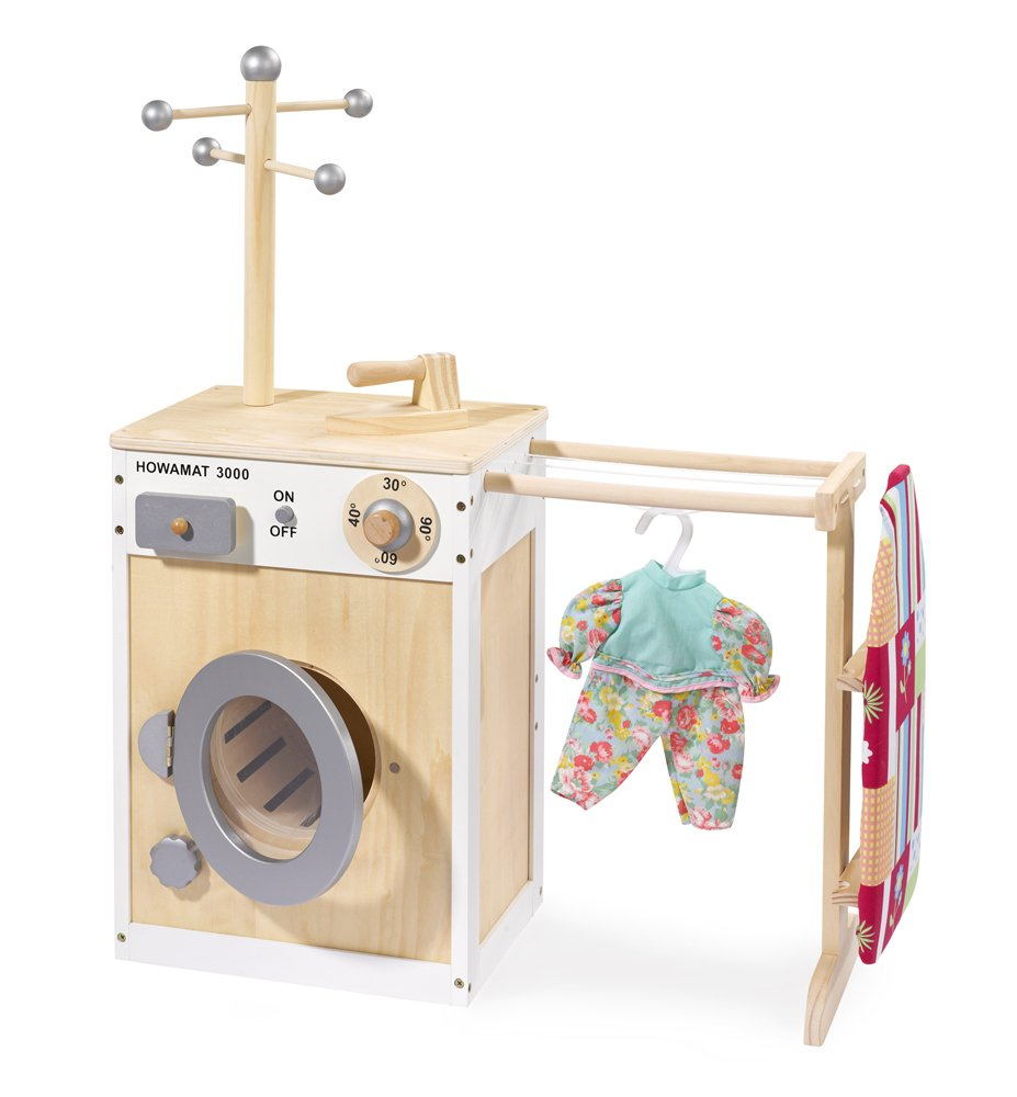 Kinderwaschmaschine Holz - Howa Waschmaschine
