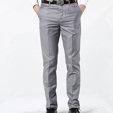 Amazon Com Log Swit Hombres Casual Slim Pantalones De Vestir Rojo Cintura Elastica Pantalones De Vestir Skinny Pantalones Casuales Clothing