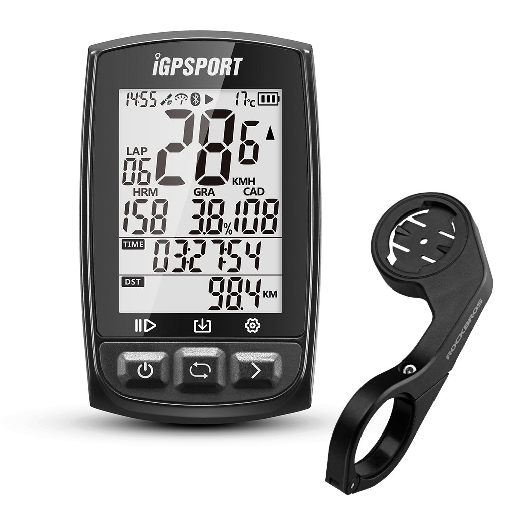 Gps Bike Computer >> Igpsport Igs50e Bike Computer Wireless Ant Gps Cycling Computer Bicycle Speedometer And Odometer Gps Cycle Computer With Bike Mount Waterproof