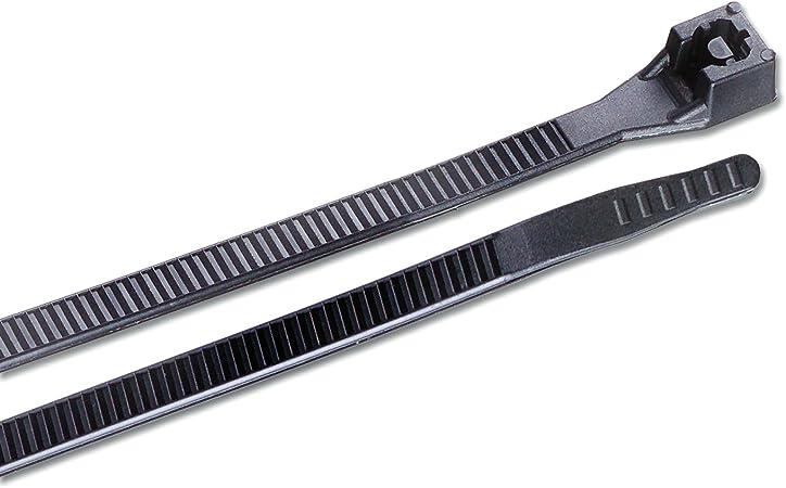 Gardner Bender  DoubleLock  15 in L Black  Cable Tie  50 pk