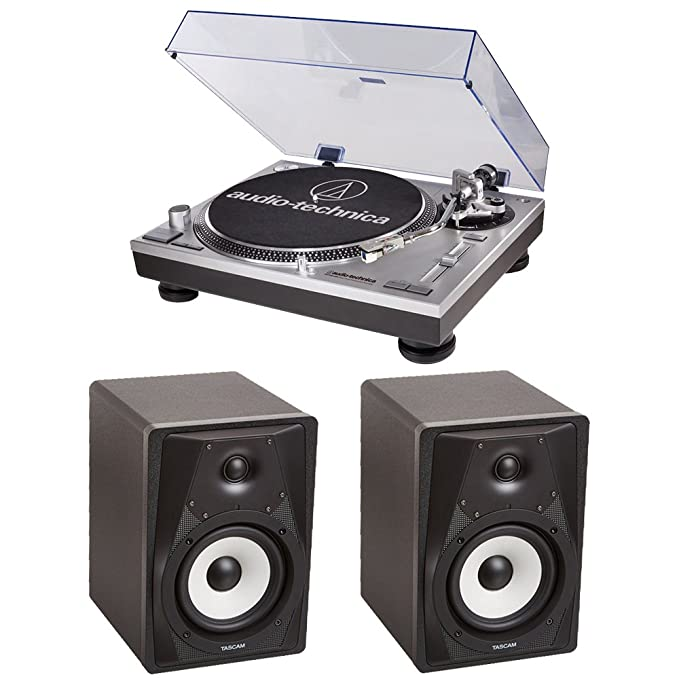 Audio Technica Tocadiscos at-lp120-usb con 2 Tascam vl-s5 ...