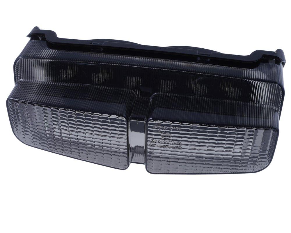 feu arri/ère LED avec verre teint/é Moto Yamaha FZS 600/jusqu/à 03