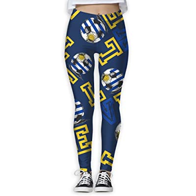 2018-love-Uruguay-football Women Printed Design Leggings Activewear Cute Legging Yoga Pants