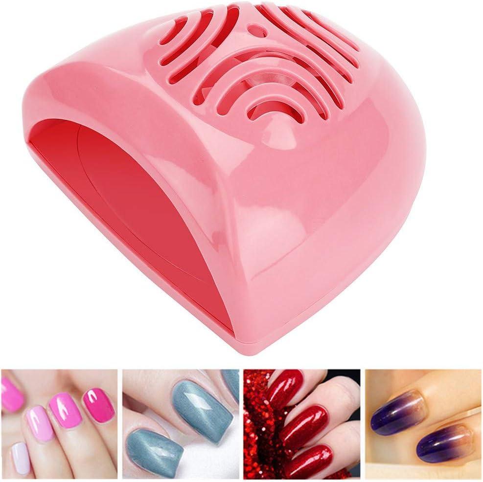 Filfeel Ventilador secador de uñas, mini máquina de soplado de ...
