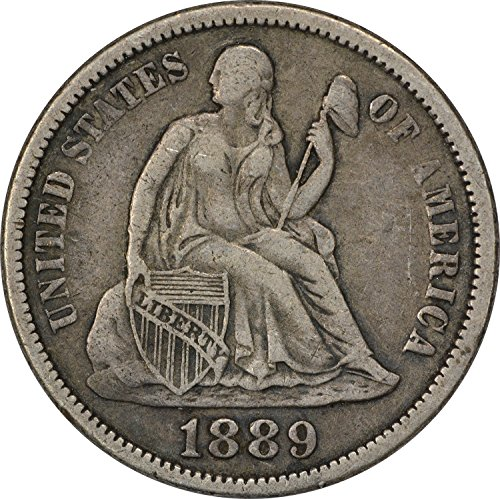 1889 Liberty Seated Dime VF (1889 Liberty Seated Dime)